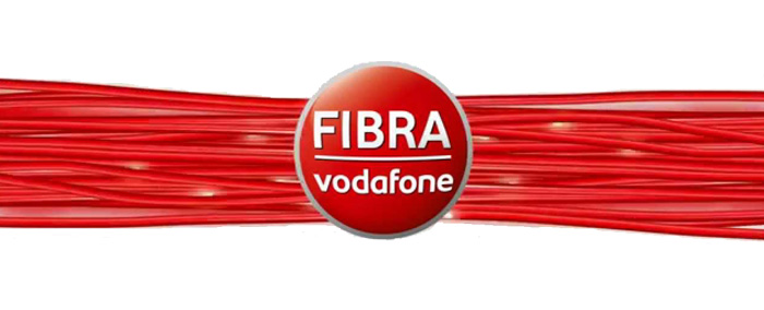 Fibra ottica Vodafone business
